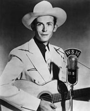 Hank Williams performing
