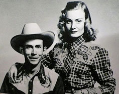 Hank Williams and Audrey Shepherd