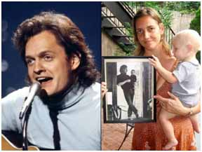 Harry Chapin with wife, Sandra and son, Josh