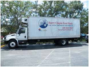 Harry Chapin food bank truck