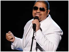 Heavy D performing at the 2011 BET Hip-Hop Awards