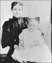 Henry Ford's wife and son