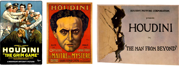 Henry Houdini movie posters