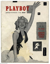 The first Playboy cover