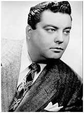 Jackie Gleason very early in his career