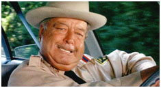 jackie Gleason in Smokey and the Bandit