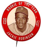 Jackie Robinson, Rookie of the year