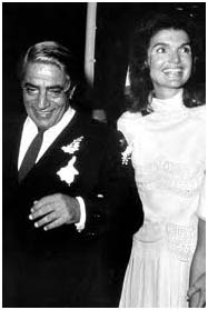 getting married to Aristotle Onassis