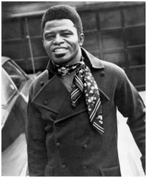 James Brown in the late 1950's