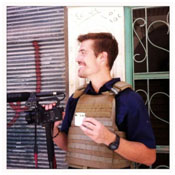 James Foley working as a photo journalist in the middle east
