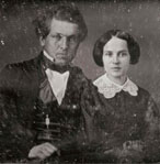 James Garfield and his wife