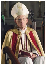 James Rebhorn playing a Bishop