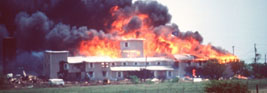 Branch Davidian compound in Waco, Texas