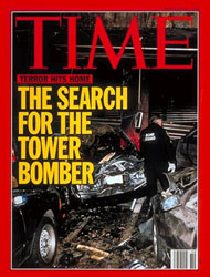 Time magazine cover: World Trade Center bombers