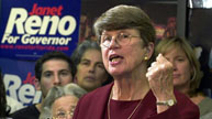 Janet Reno running for governor of Florida