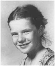 Janis Joplin when she was a child