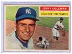 Jerry Coleman Yankees baseball card