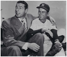Jerry Coleman with Joe DiMaggio