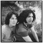 Jerry Garcia and Carolyn Adams