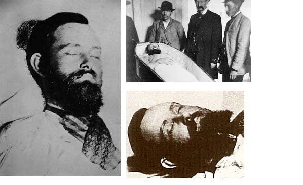 Pictures of Jesse James Dead
