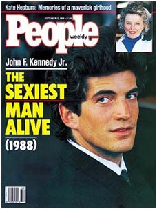 John F. Kennedy, Jr cover of people magazine