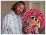 Jim Henson with Miss Piggy