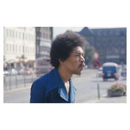 one of last photos of jimi hendrix