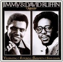 Jimmy adn David Ruffin album cover