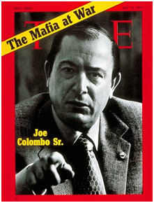 Joe Colombo on cover of time magazine
