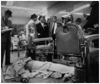 Albert Anastasia dead on barber shop floor