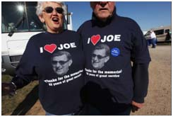 I love Joe tee shirts