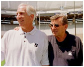 Joe Paterno with Jerry Sandusky