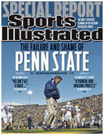 Joe Paterno on the cover of Sports Illustrated