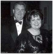 John Candy and wife, Rosemary