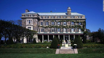 Rockefeller Kykuit estate in Westchester County, New York