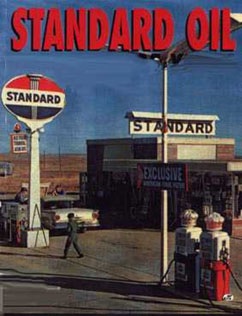 Standard Oil gasoline station