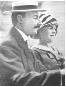 John Jacob Astor with wife, Madeleine
