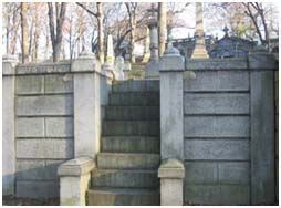 Trinity Church Cemetery in New York City