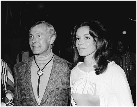 Johnny Carson with Joanne Copeland