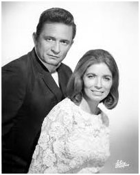 Johnny Cash with June Carter