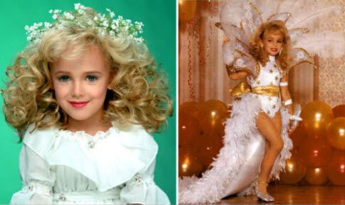 JonBenet Ramsey in beauty pageants