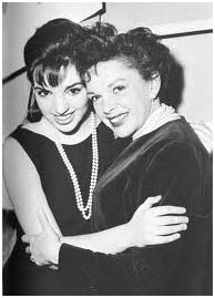 Judy Garland with daughter, Liza Minnelli