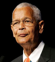 Julian Bond, as chairman of National Association for the Advancement of Colored People
