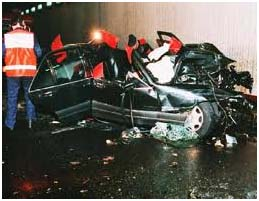 Lady Diana Car Crash