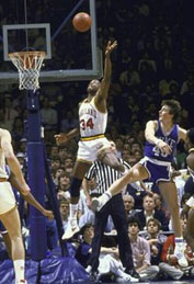 Len Bias playing for Maryland
