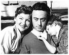 lenny bruce with his wife and daughter
