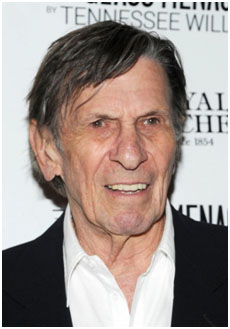 Leonard Nimoy later in life