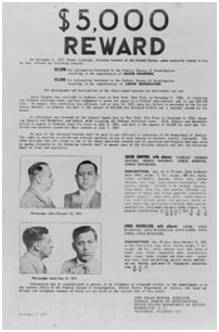 Wanted poster in 1937 for Lepke