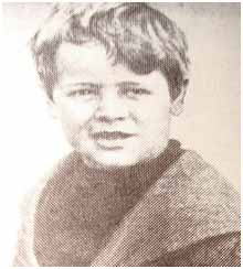 Lou Gehrig childhood photo