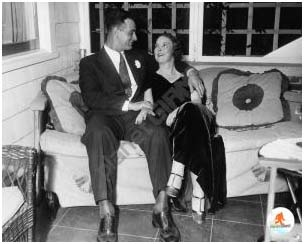 Lou Gehrig with wife,  Eleanor Twitchell